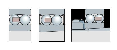 Подшипники сферические шариковые двухрядные