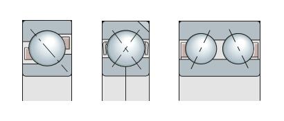 Подшипники шариковые радиально-упорные и упорно-радиальные